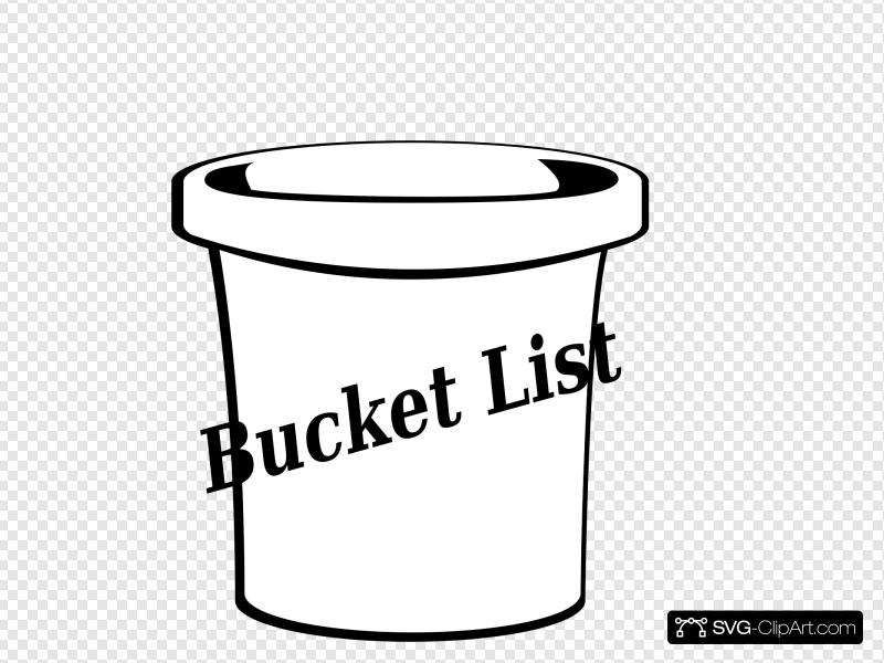 Bucket Clip art, Icon and SVG.