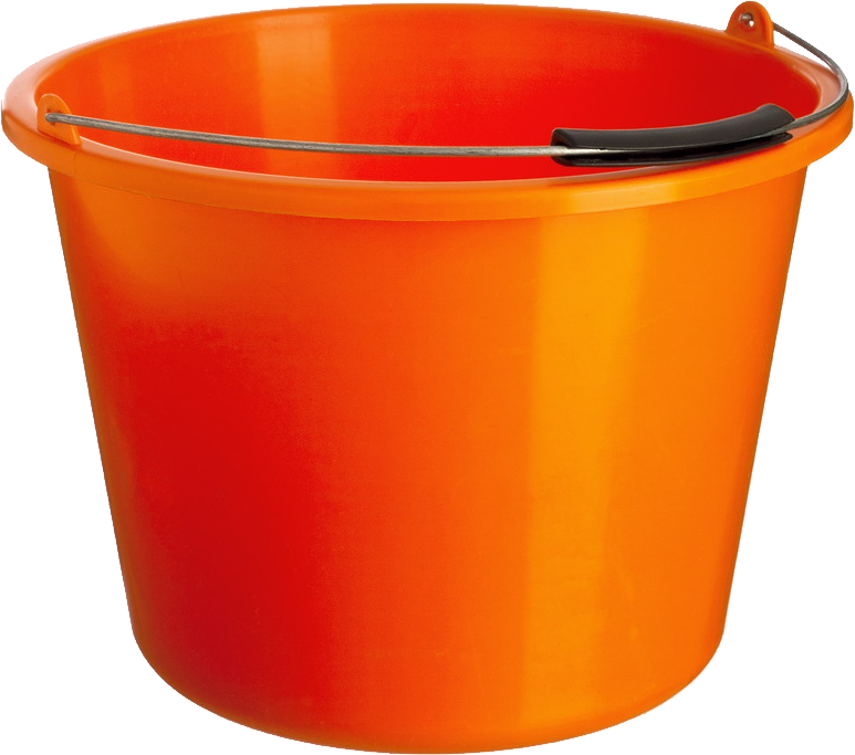 Bucket clipart no background.