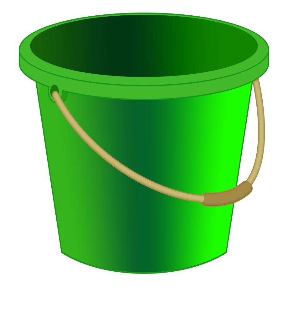 Green Bucket Png Clipart.