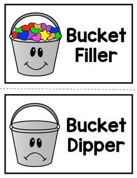 NEW!!! Bucket Filler/Bucket Dipper Behavior Sort.