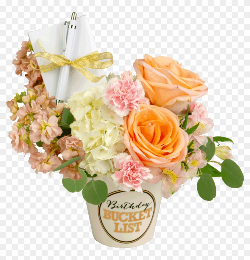 Pastel Birthday Bucket List Bouquet.