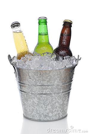 Bucket Of Beer Clipart.