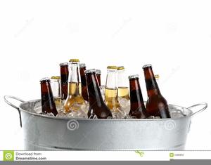 Free Bucket Of Beer Clipart.