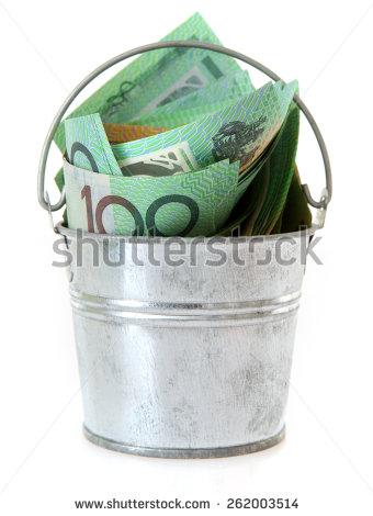 """buckets_of_money"" Stock Photos, Royalty."