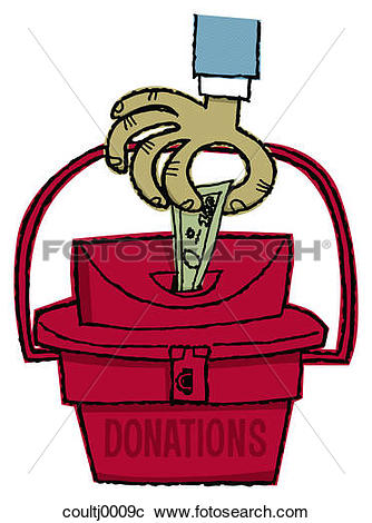 Stock Photography of donations, donating, money, cash, giving.