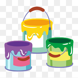 Paint Bucket PNG Images.
