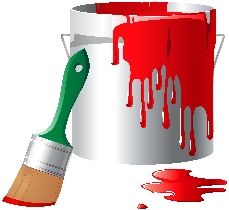 Paint Bucket PNG Clip Art.