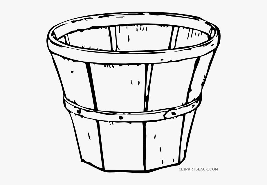 Bucket Clipart Bucket Outline.