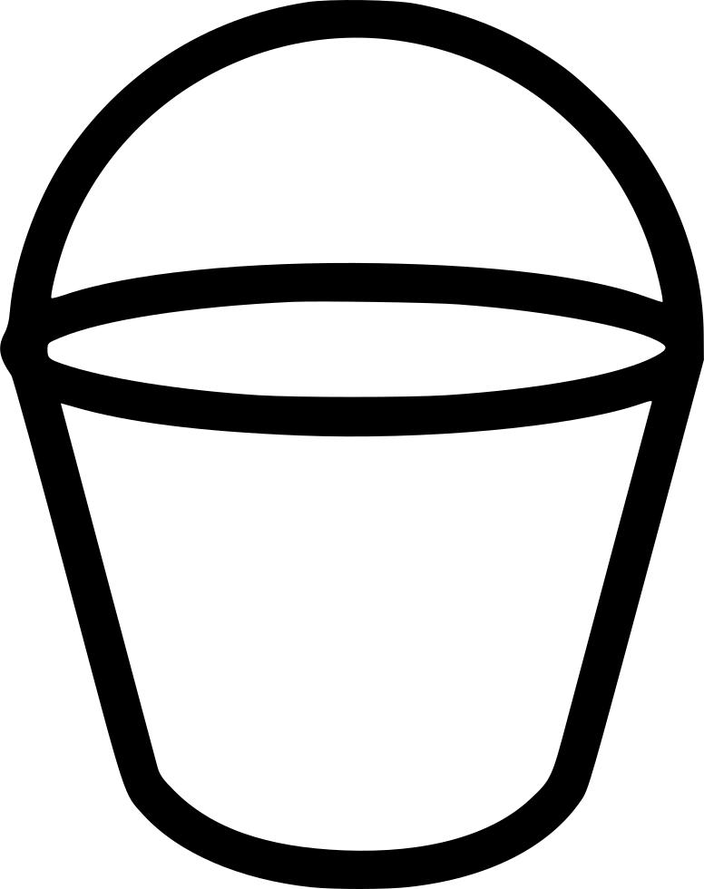 Outline bucket, bucket, tool #48910.