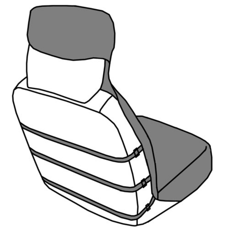 Waterproof Bucket Seat Cover.