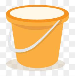 Bucket Vector, Free Download Paint bucket, Ice bucket, Rice bucket.
