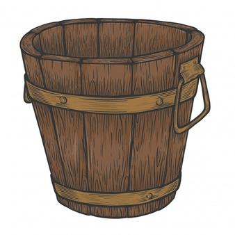 Bucket Vectors, Photos and PSD files.