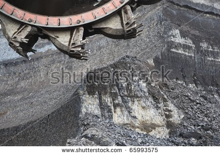Bucket Wheel Excavator Stock Photos, Royalty.