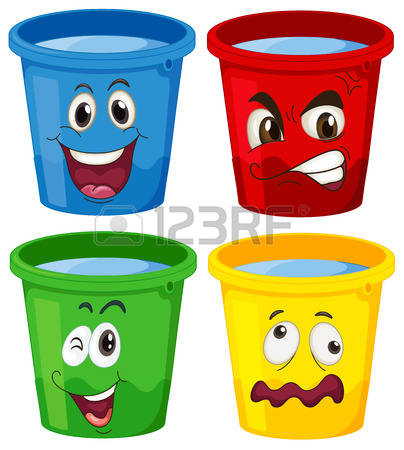 3,339 Blue Bucket Stock Vector Illustration And Royalty Free Blue.