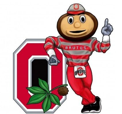 Ohio State Buckeyes Wall Art 3 D Brutus clipart.