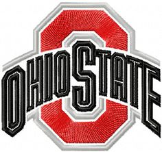 Ohio state buckeyes football clipart.
