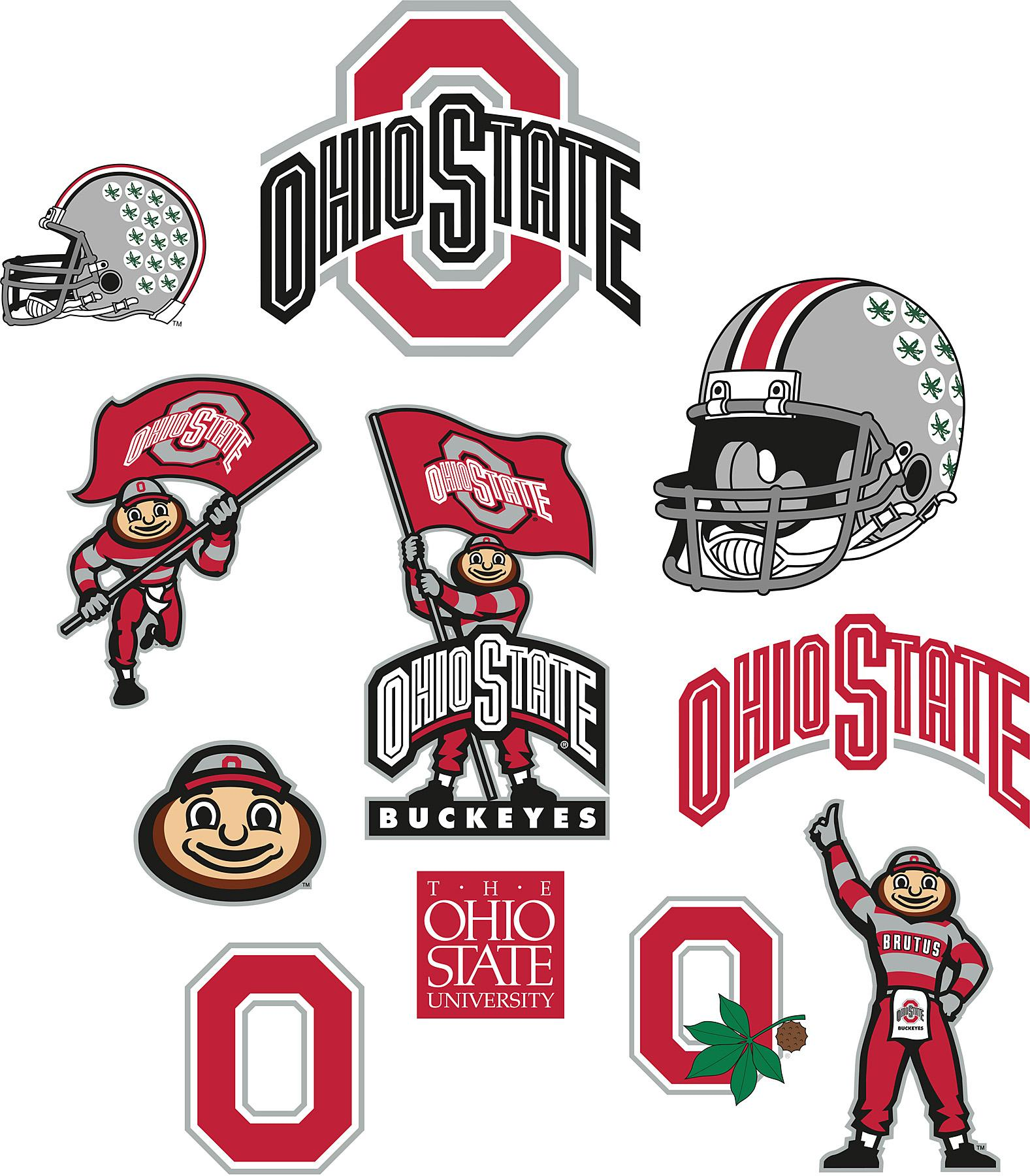 Ohio state buckeyes logo clip art.