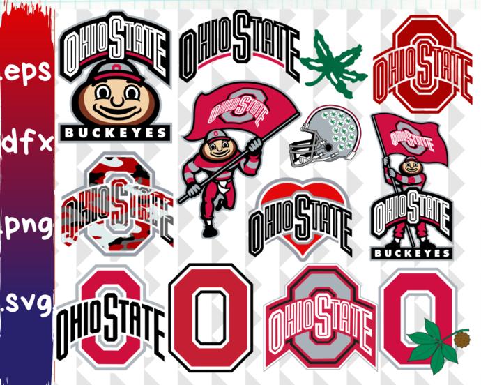 Ohio State Buckeyes, Ohio State Buckeyes svg, Ohio State Buckeyes clipart,  Ohio State Buckeyes logo, Ohio State Buckeyes cricut.