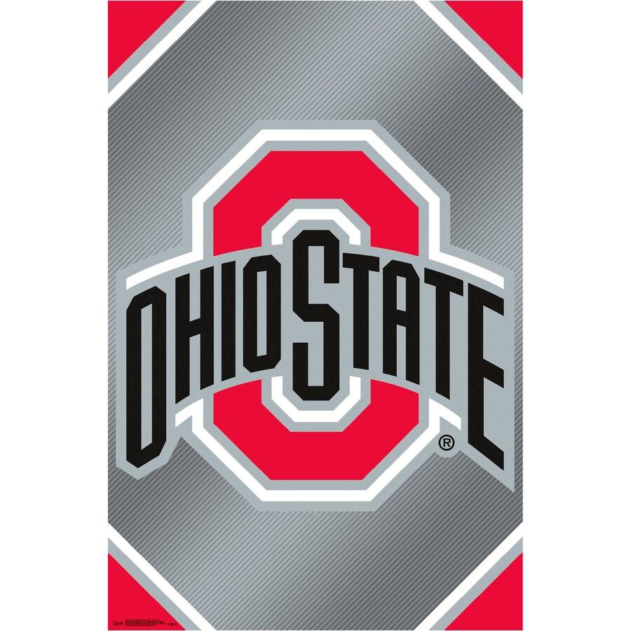 Ohio State Buckeyes 22.4\'\' x 34\'\' College Logo Poster.