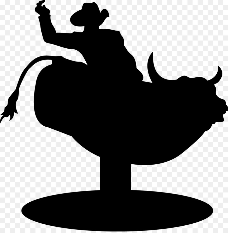 mechanical bull silhouette clipart Bull riding Mechanical.