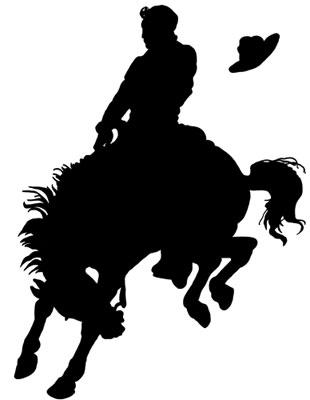 Horse Silhouette Clip Art.