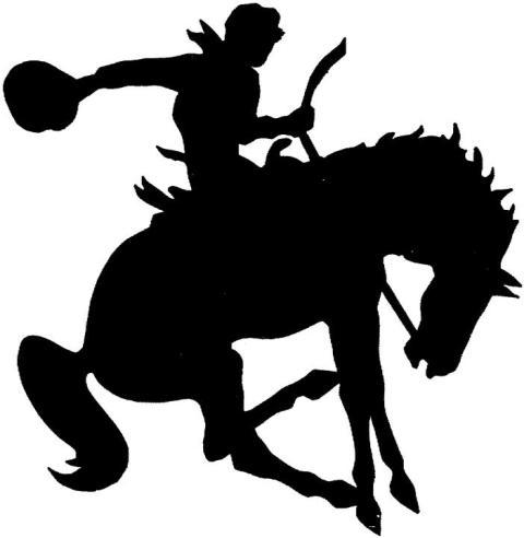 Bucking Horse Clipart.