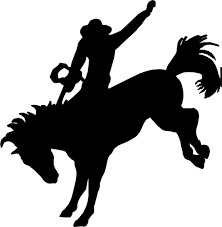 Image result for bucking horse silhouette clip art.