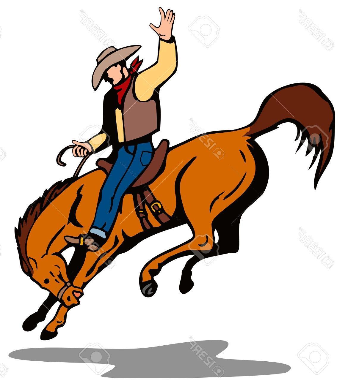 Top Bucking Horse Clip Art Design » Free Vector Art, Images.