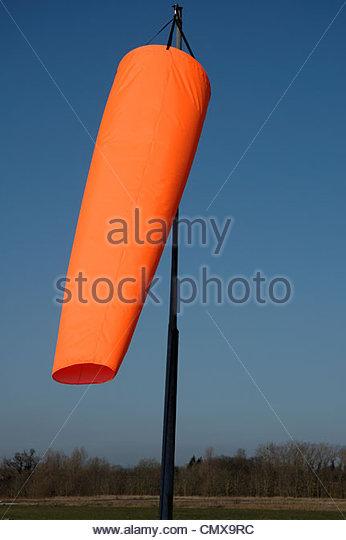 Wind Sock Orange Windsock Stock Photos & Wind Sock Orange Windsock.