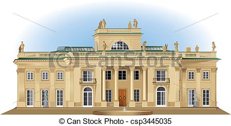 Royal palace clipart.