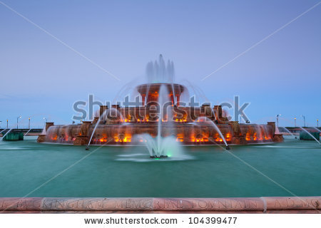 Buckingham Fountain Stock Photos, Royalty.