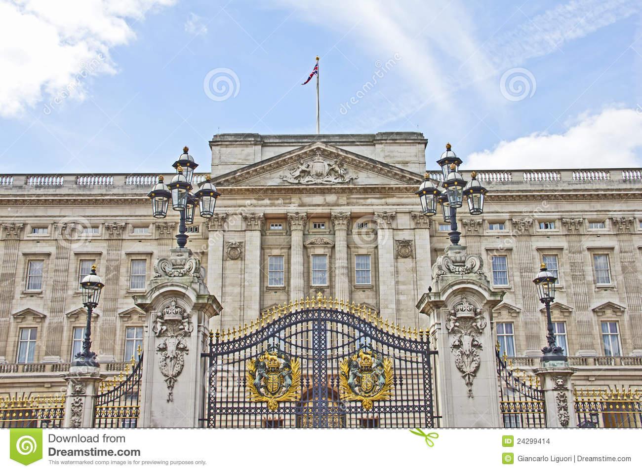 Buckingham Palace Stock Images.