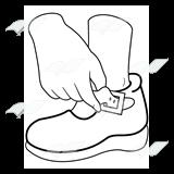 A Beka Book :: Clip Art :: Buckle My Shoe.