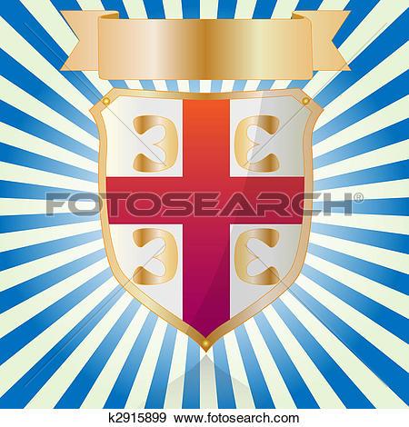 Stock Illustration of Shield.