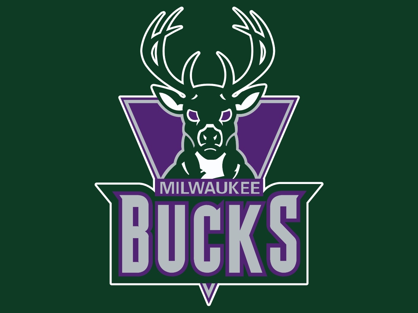 45+] Milwaukee Bucks Wallpaper New Logo on WallpaperSafari.