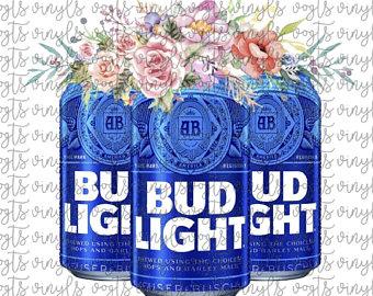 Bud light can art.