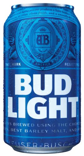 Bud Light 6pk Can.
