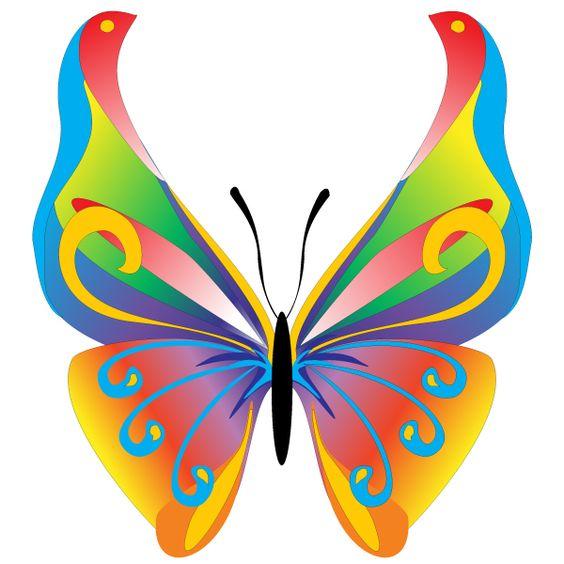 Free Butterfly Clip Art.