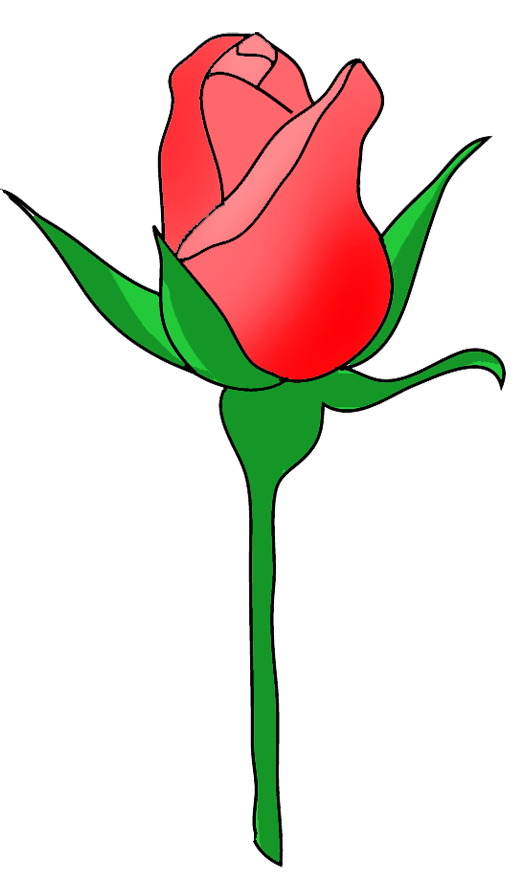 Rose Bud Clipart.