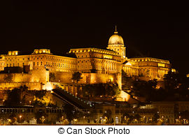 Picture of Danube Terrace at Buda Castle in Budapest.