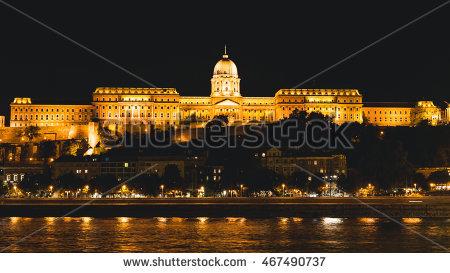 Buda Castle Stock Photos, Royalty.