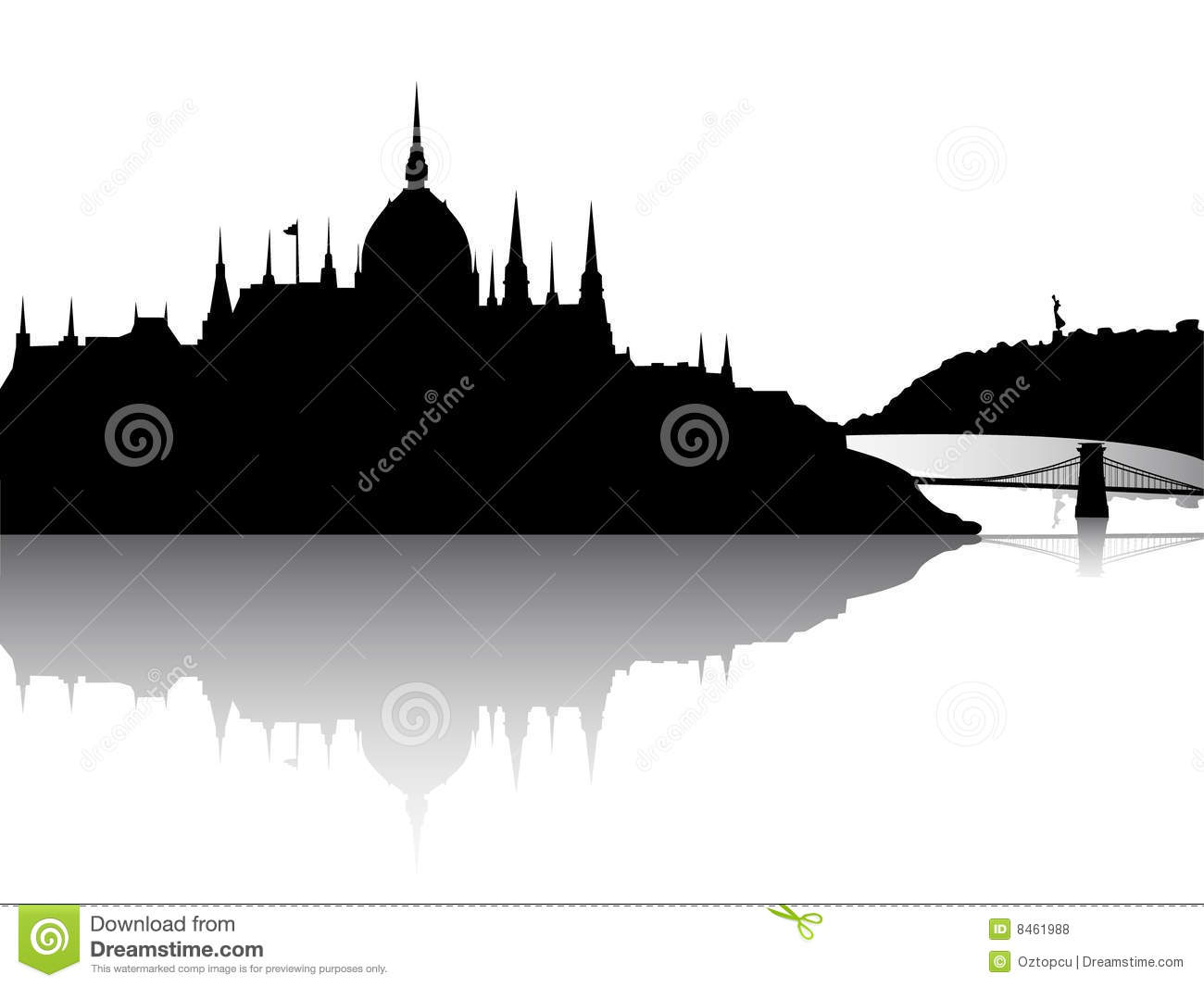 Budapest Stock Illustrations.