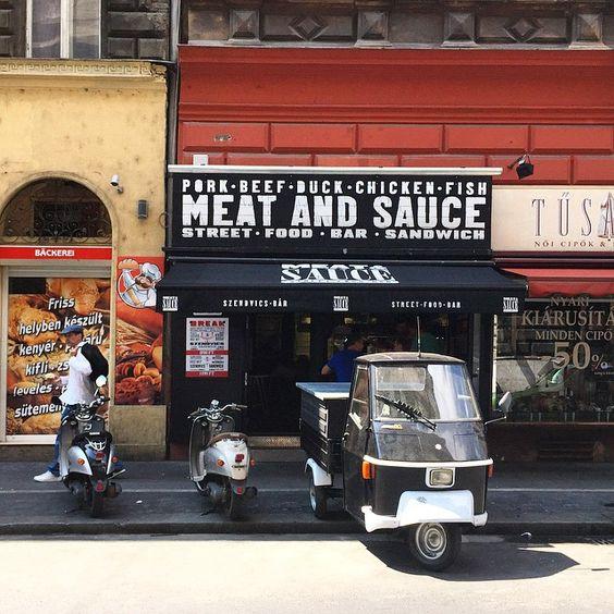 Meat & Sauce Budapest Nagymező utca 34..