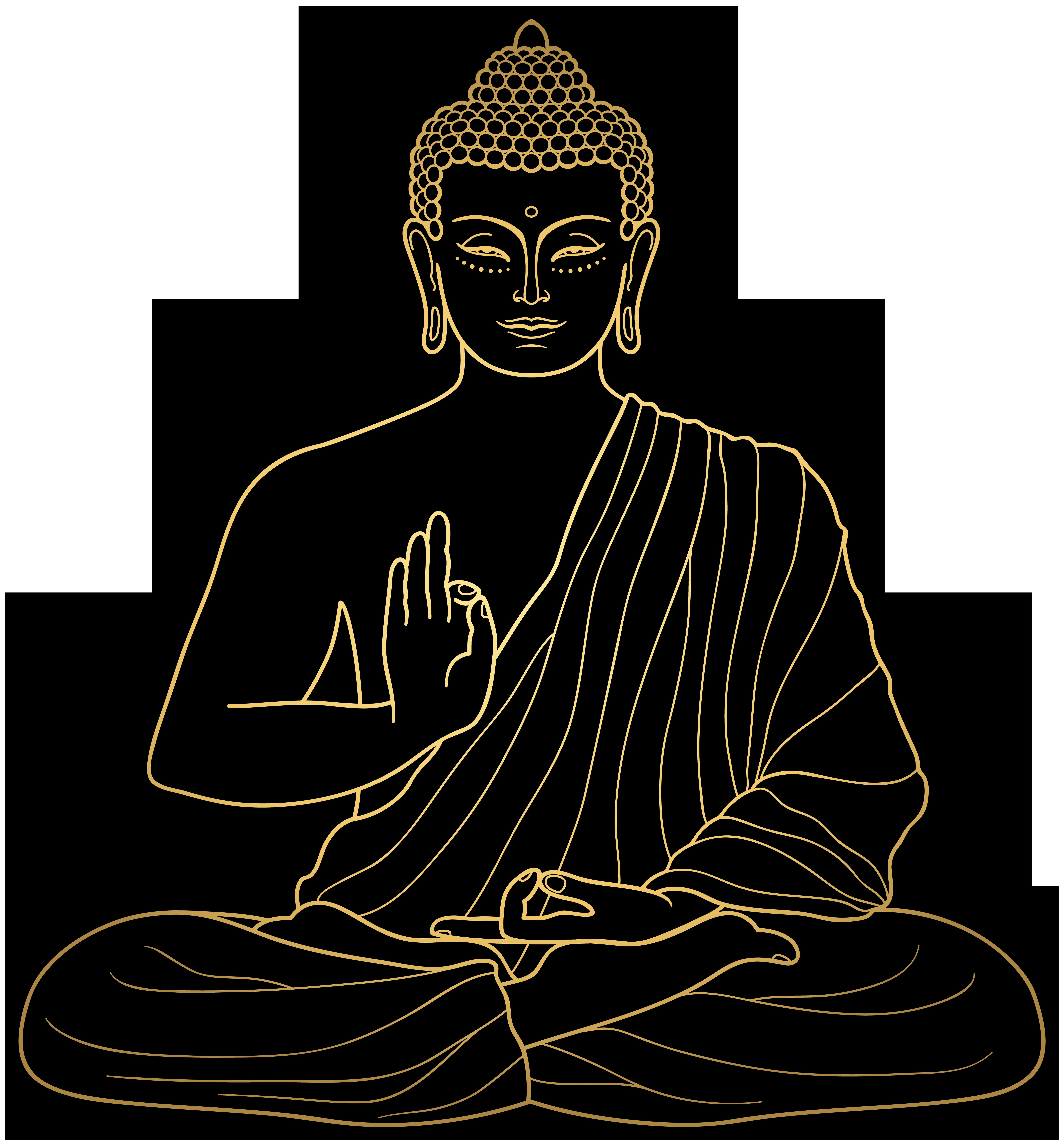Buddha PNG Clip Art.