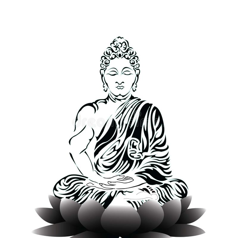 Buddha Stock Illustrations.