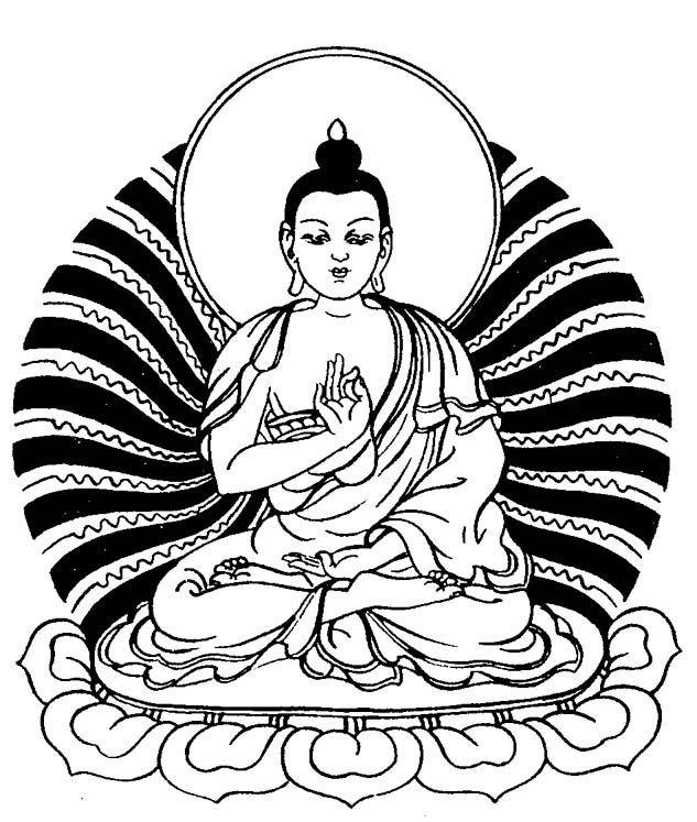 Lord buddha clipart 7 » Clipart Portal.