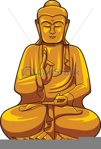 Drawing Of Buddha Clipart.