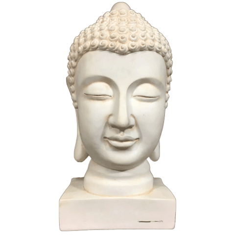 Buddha Face Transparent Background PNG.