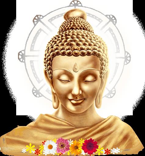 Woman Buddha transparent PNG.