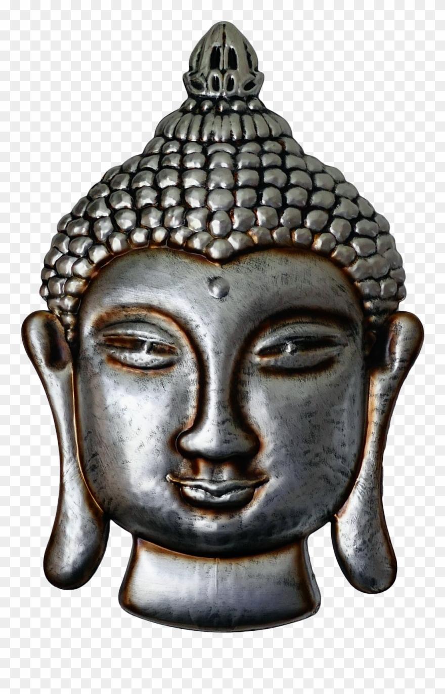 Buddha Face Png Transparent Image.